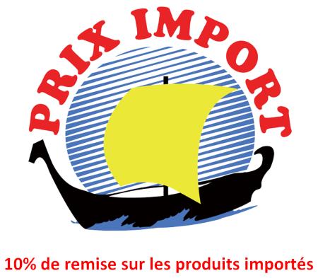 Reduc prix import 2